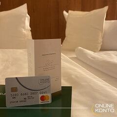 Hotelzimmer-Onlinekonto