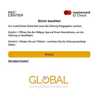ID Check Global Konto