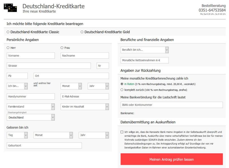 deutschland-kreditkarte-antrag