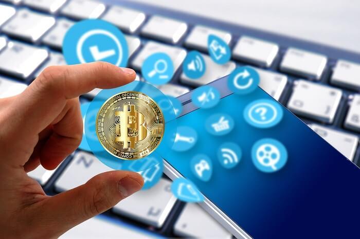 bitcoin-smartphone-tastatur