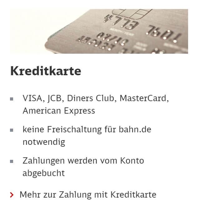 deutsche bahn kreditkarte