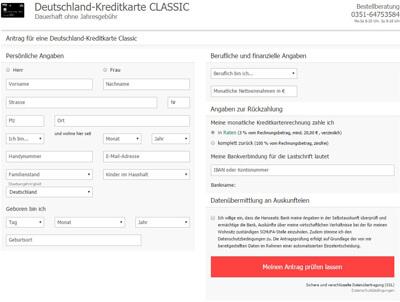 deutschland-kreditkarte-classic-antrag