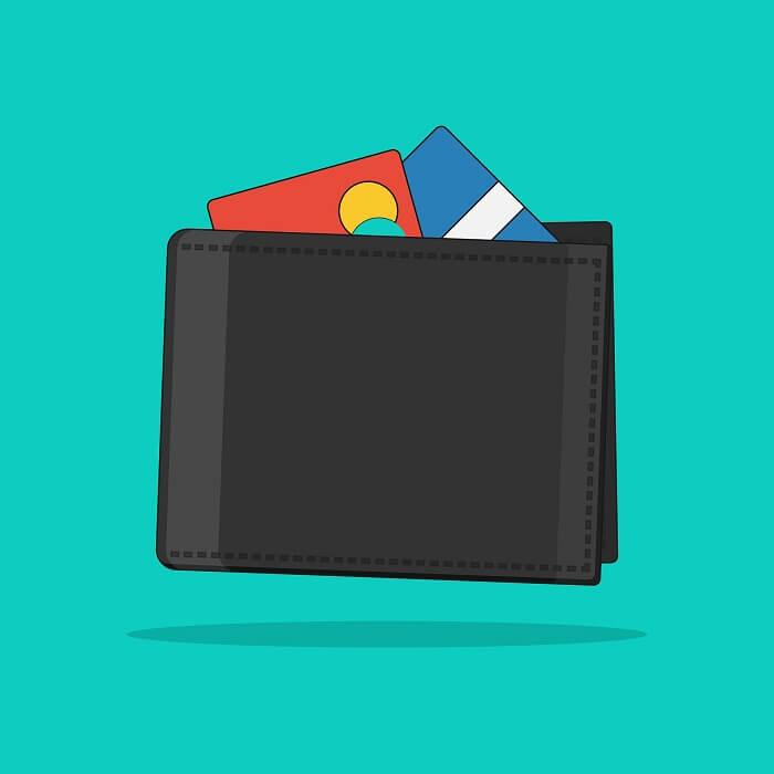 geldbeutel-mastercard-visacard