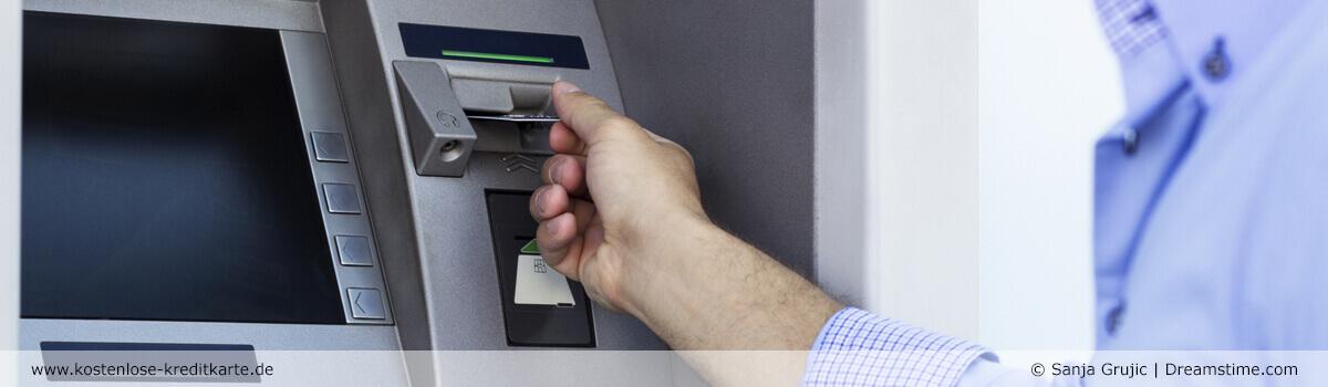 Geld abheben mit Kreditkarte - Kostenlose-Kreditkarte.de