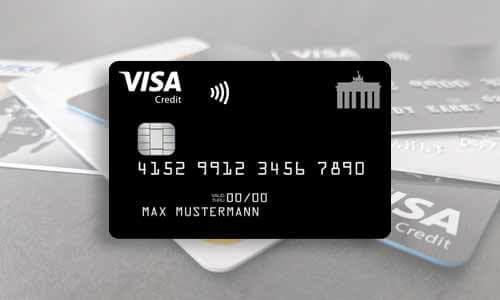 Deutschland-Kreditkarte Classic - Kostenlose Kreditkarte