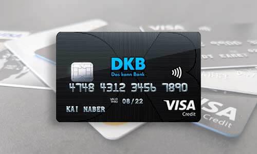DKB Visa Card - Kostenlose Kreditkarte