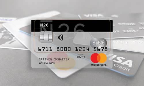 N26 Kreditkarte - Kostenlose Kreditkarte