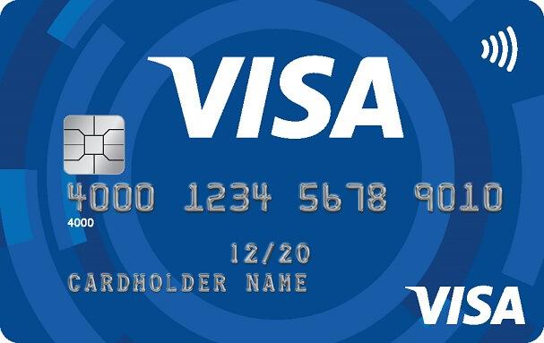 visa-kreditkarte-muster